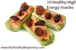 10 healthy snack choices