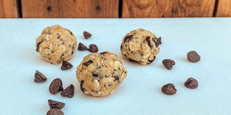 High Protein Chocolate PB Balls